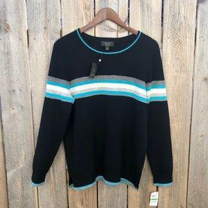 Charter Club   Luxury Cashmere Crewneck Sweater L